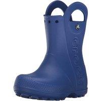 Crocs 儿童可拎式雨靴 蓝色 适合4-8岁