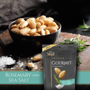 $2.99 + Free ShippingBlue Diamond Gourmet Almonds, Rosemary and Sea Salt