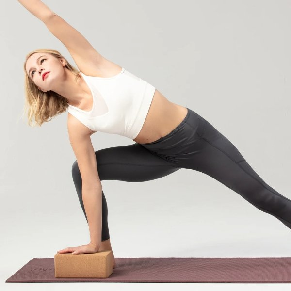 6件特制软木瑜伽砖