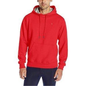 $23 Champion Powerblend Men's Fleece Pullover Hoodie