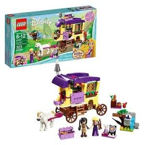 $25.99(原价$39.99)史低价:LEGO Disney 系列 长发公主的旅行大篷车 41157