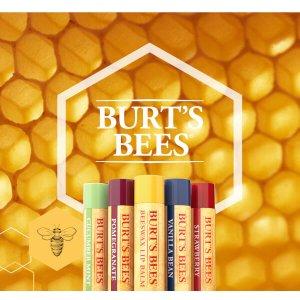 低至6折 护唇膏4个装€10.45Burt's Bees 平价好用唇部护理品牌 这么好用的润唇膏墙裂推