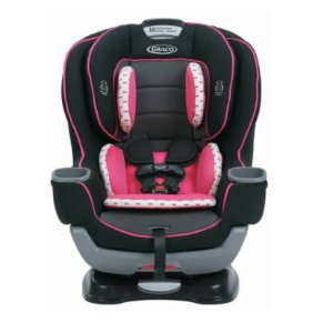 Expired Graco Baby Extend2Fit Convertible Car Seat