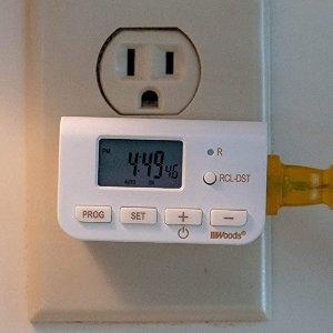 $8.86(原价$17)Woods 50027WD 24小时定时插座 节能省电 防止过充