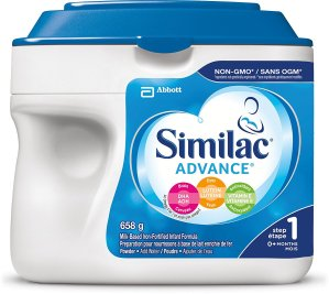 $26.57包邮(原价$32.99)Similac Advance 雅培非转基因1段婴儿配方奶粉