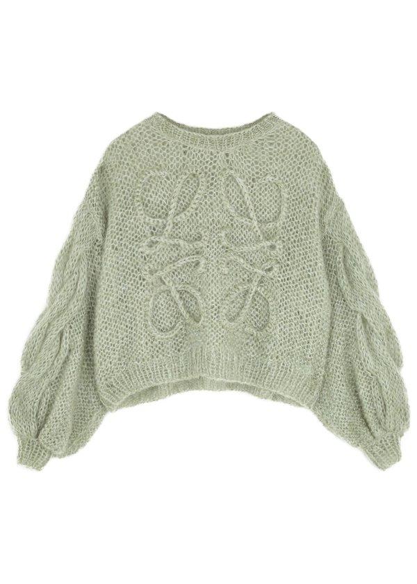 Logo 马海毛毛衣