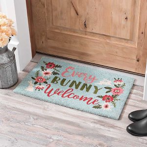 Coir Every Bunny Welcome Easter Welcome Mat