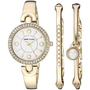 $44.99Anne Klein Women's Swarovski Crystal Accented Watch and Bangle Set