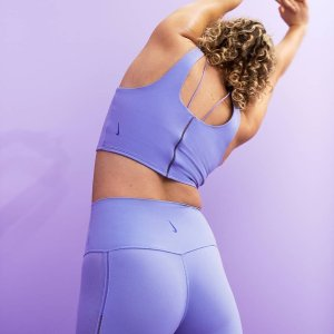 低至5折 雾霾蓝Legging$78Nike官网 瑜伽装备专场 收全新Yoga Luxe系列