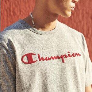 低至3折 爆款卫衣$50起最后几小时:Champion 白菜价运动潮服收起来