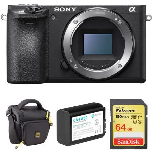 Sony a6500 Mirrorless Body with Free Accessory Kit