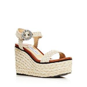 826d9677c6cb Jimmy Choo Women s Romy 85 Suede High-Heel Pointed Toe Pumps · Jimmy  ChooWomen s Nylah 100 Braided Raffia Wedge Sandals