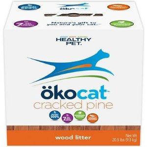 $9.33Okocat 天然松木猫砂 吸水消臭低粉尘 20.5lb