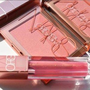 全场9折 $45入Nars高潮Fresh Fragrances 彩妆、护肤促销 Chanel、SK-II均参加