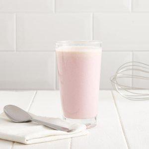 草莓代餐奶昔