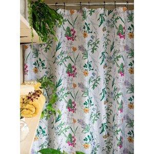Simons Maison野生花园浴帘