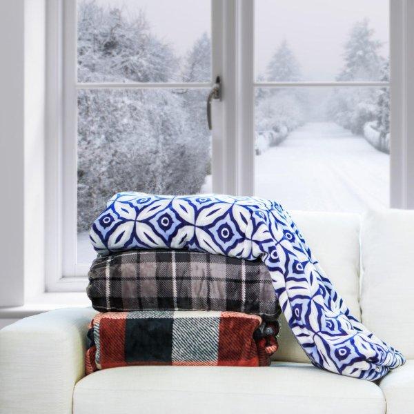 保暖盖毯 带脚部保暖套 沙发看剧刷手机必备