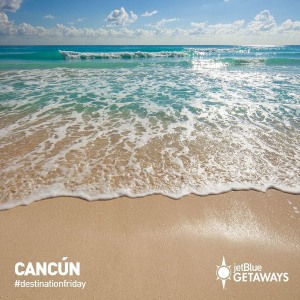 Fares Starting at $204 RoundtripUS Cities - Cancun  on United, American, and JetBlue