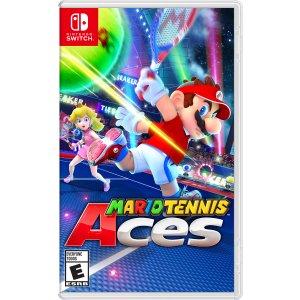 售价$58.50游戏抢鲜看:《马里奥网球 Aces》Switch 游戏试玩