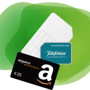 签合同就送25欧amazon 购物卷包月电话+短信+10GB LTE 月租14.99欧 每月可kun