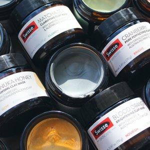 低至6折独家:Swisse 粘土面膜热卖 收抹茶舒缓面膜、血橙亮肤面膜