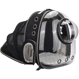 AJY Pet Clear Cat Backpack Carrier