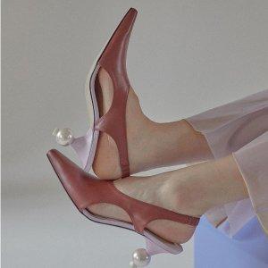 低至5折 €164收经典款YUUL YIE 韩国小众设计师品牌闪促 快收独特个性异跟鞋