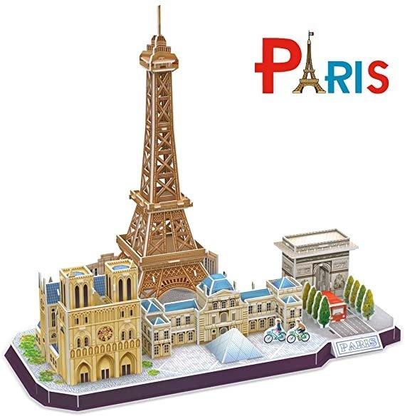 3D拼图 巴黎