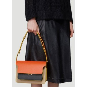MarniMedium Trunk Bag in Orange