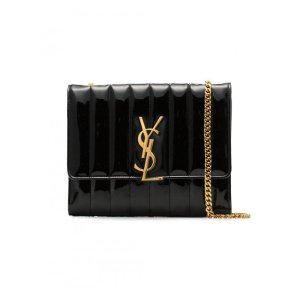 Saint LaurentVicky Leather Chain Wallet