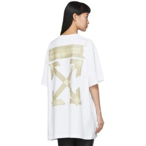 Off-WhiteWhite Tape Arrows T-Shirt