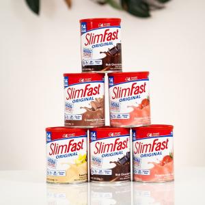 7折起 草莓味奶昔降价£5入SlimFast 英国超火代餐品牌闪促进行时 控糖又减脂