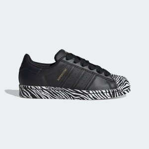 AdidasSuperstar 黑斑马