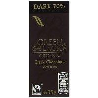 Green & Black's 70%黑巧 10块装