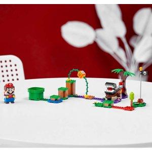 $15.86(原价$24.99)史低价:LEGO 超级马里奥系列 热带雨林区 71381(共160粒)