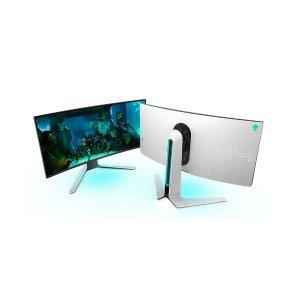 现价(£1099.99)原价(£1371)黑五价:Alienware 34寸 曲面电竞显示器