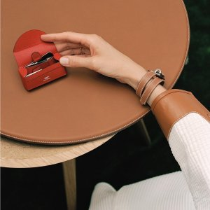 低至6.5折 男女款上新Jomashop 爱马仕腕表专场 皮革艺术 收女士经典小方表