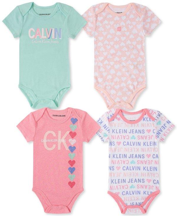 婴儿包臀衫4件套