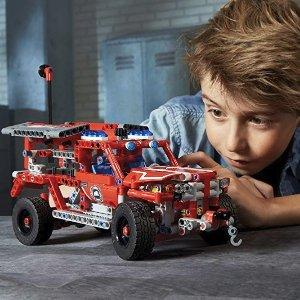 低至$23.99+包邮 新入封面款史低价:LEGO Technic 乐高机械系列特卖