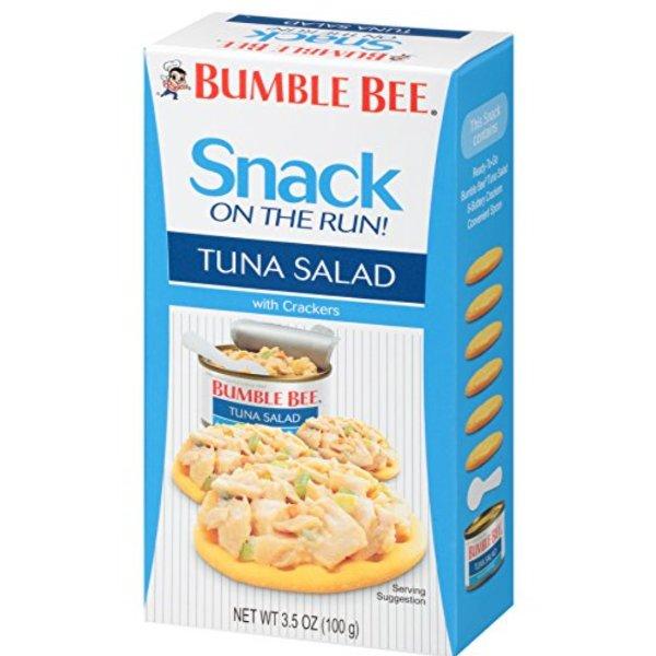 BUMBLE BEE 吞拿鱼罐头+饼干零食套装 3.5oz