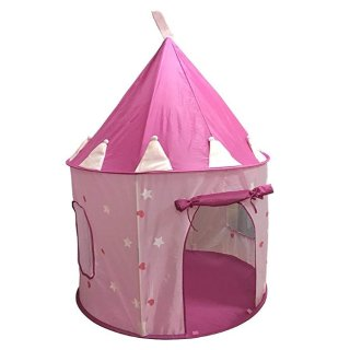 $17.09(原价$18.99) 夜晚会发光哦SueSport 公主的城堡,粉色帐篷