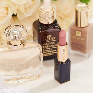 满额送小棕瓶3件套Estée Lauder 美妆护肤品热卖 $42.5换购$130好礼