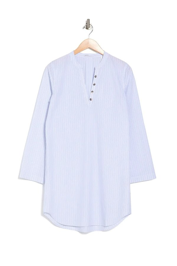 Ellis Woven Stripe 衬衣裙