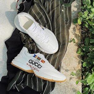 定价优势 补码+上新Gucci 复古美鞋专场 New Ace运动鞋$399起
