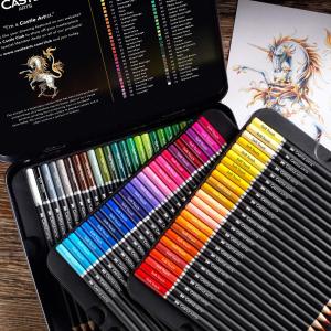 72色仅€29.99 原价€39.99 着色度高Castle Art 彩色铅笔 高质量高性价比 宅家消磨时间必备