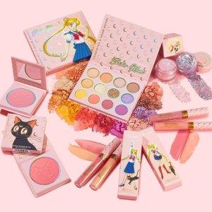 再次补货! $8起Colourpop x Sailor Moon 美战彩妆补货 水兵月来圈钱啦