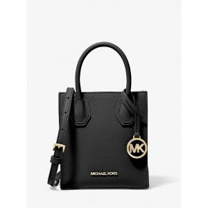 Michael KorsMercer Extra-Small Pebbled Leather Crossbody Bag