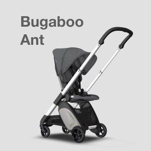 8折 可带上机舱Bugaboo Ant 时尚童车及配件特卖 小巧轻盈 带宝宝出行超轻松