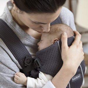 $78.9包邮(原价$101.93)史低价:BABYBJORN 迷你婴儿背带 我要紧紧贴着亲爱的麻麻
