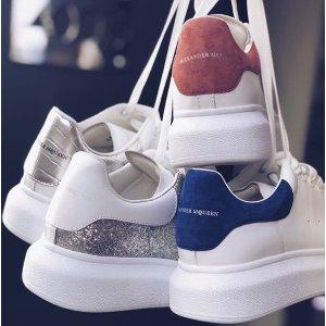 8折抢好码+包税直邮中国MCQ小白鞋、GG小脏鞋精选热卖,长腿界两大icon